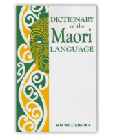 Dictionary of the Maori Language v3